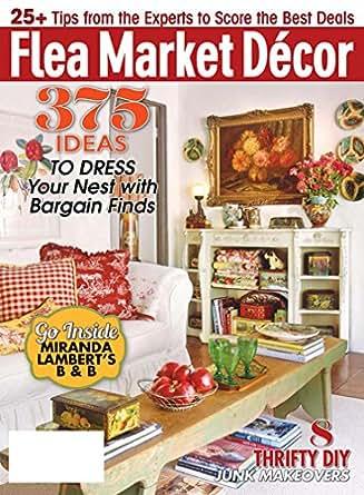 flea market decor magazines. Black Bedroom Furniture Sets. Home Design Ideas