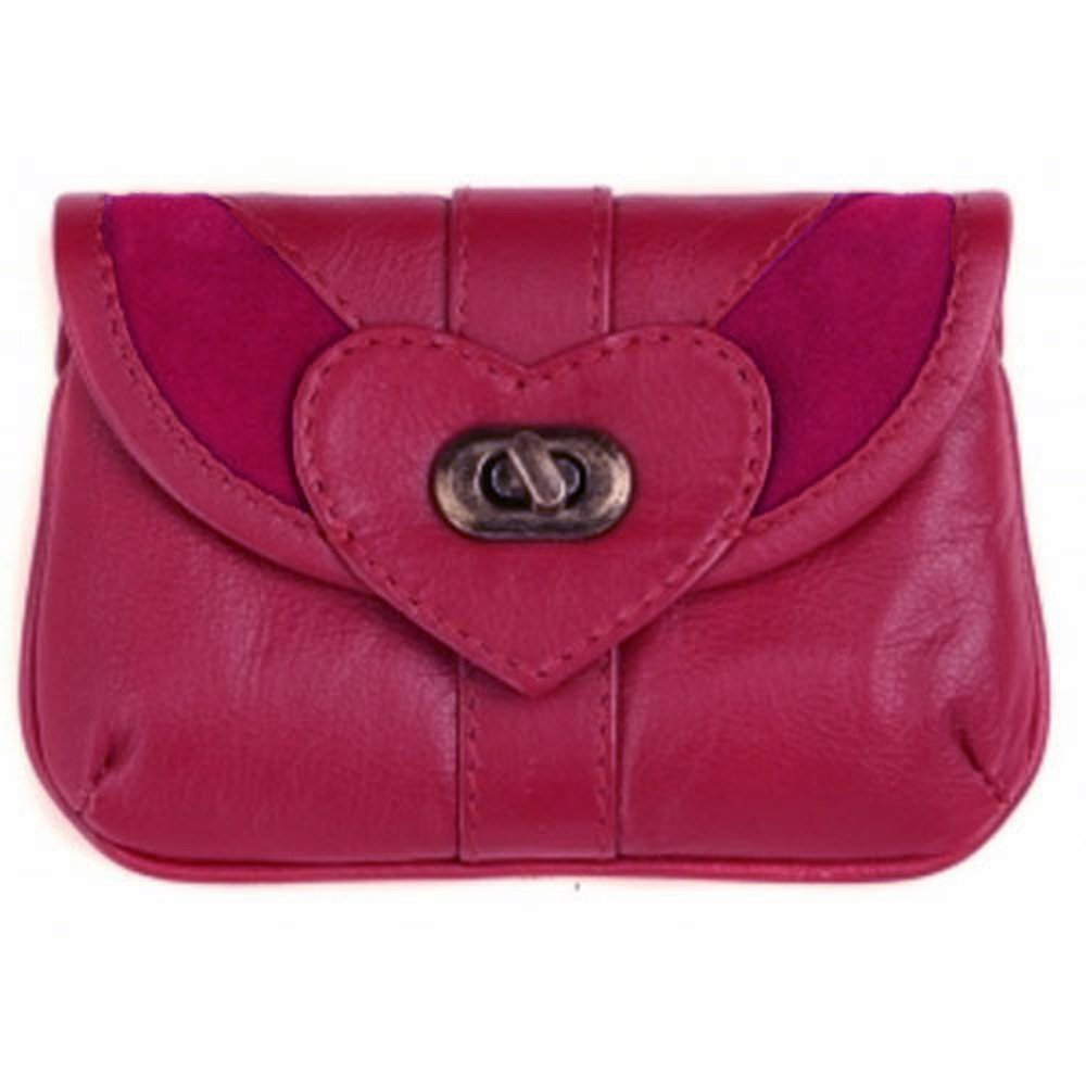cuir Mala Leather Coeur Porte-Monnaie