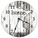 Cheap MINNESOTA STATE HOME CLOCK Huge 15.5″ to 16″ Wall Clock Black and White Rustic Clock