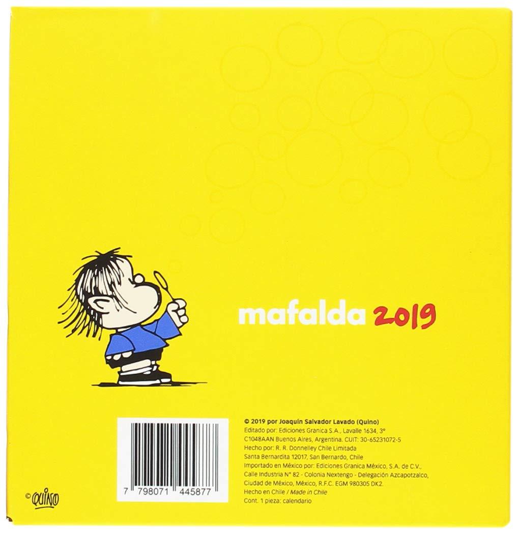 Granica GB00110 - Mafalda 2019 calendario: Amazon.es ...