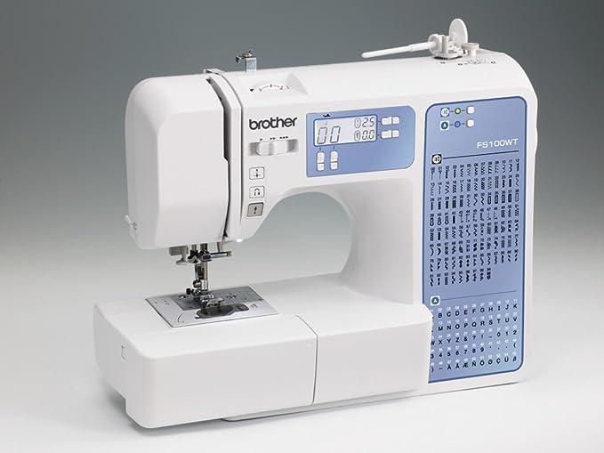Máquina de coser Brother FS100WT - Quilting y Patchwork: Amazon.es ...