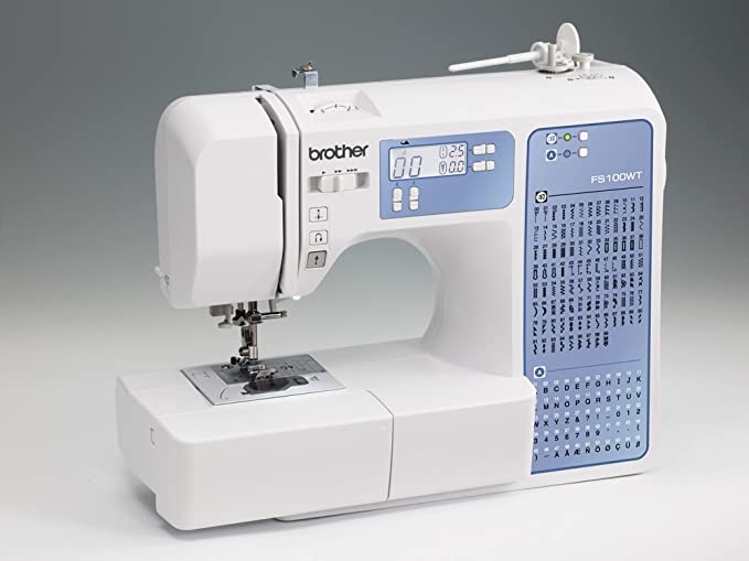Máquina de coser Brother FS100WT - Quilting y Patchwork: Amazon.es: Hogar