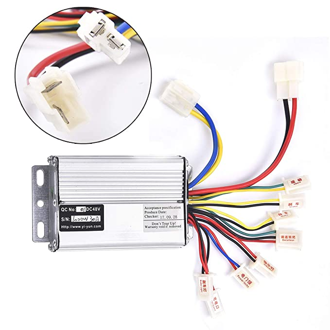 Amazon.com : Wingsmoto Controller 48v 1000w for Brushed ...