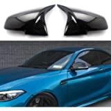 Door Mirror Covers Carbon Fiber Replacement Rearview Side Mirror Covers Caps fit for BMW F20 F22 F23 F30 F31 F32 F33 F36…