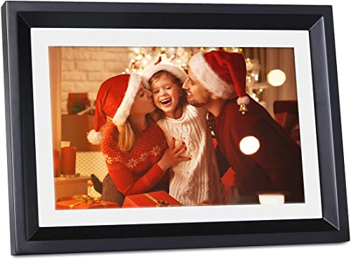 Digital Picture Frame WiFi,LOVCUBE 10 Inch Smart Digital Picture Frame