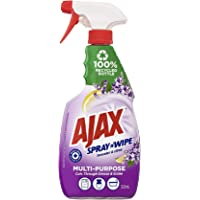 Ajax Spray n' Wipe MultiPurpose Antibacterial Disinfectant Household Cleaner Trigger Surface Spray Lavender & Citrus…