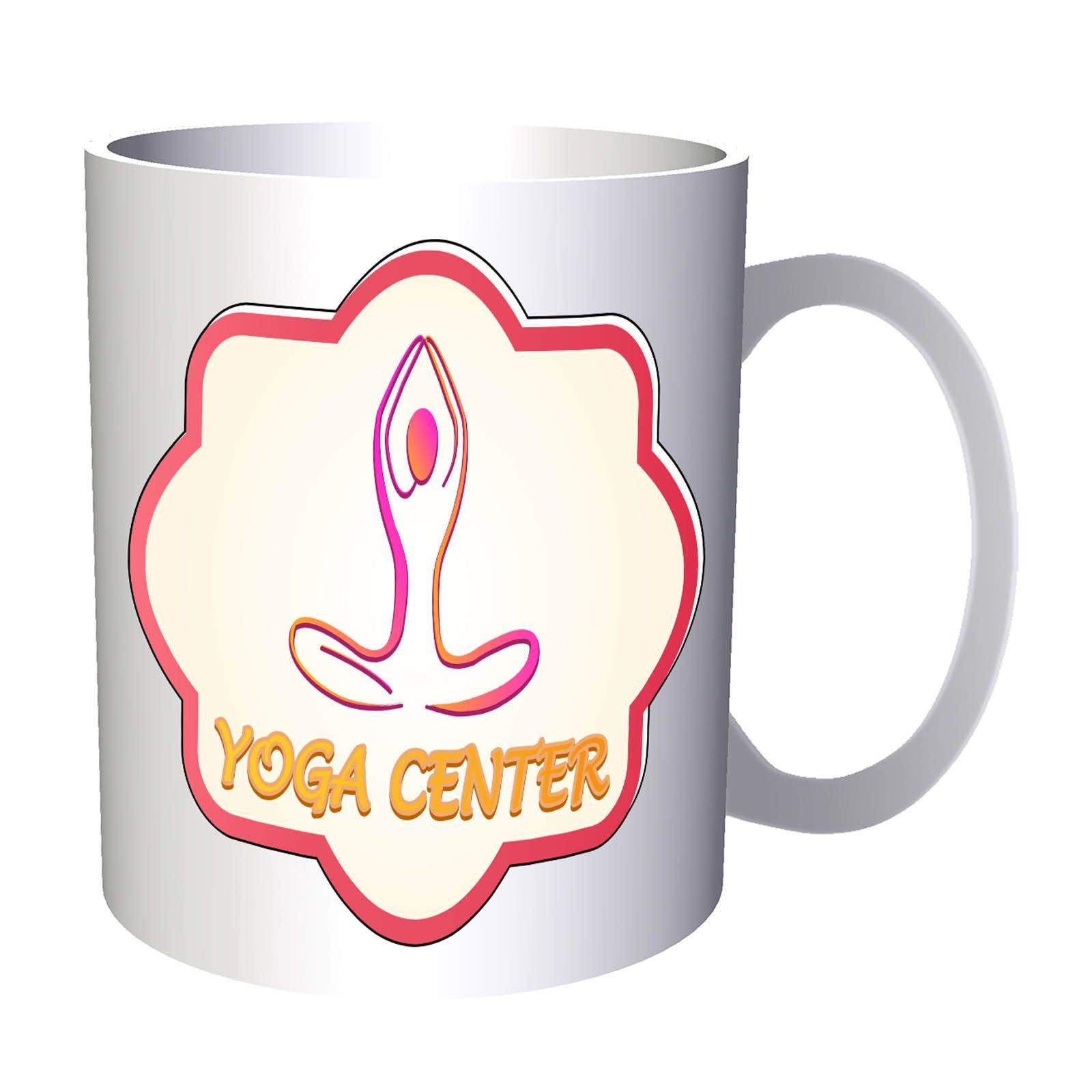 Yoga Center Beauty Spa 11oz Mug o690