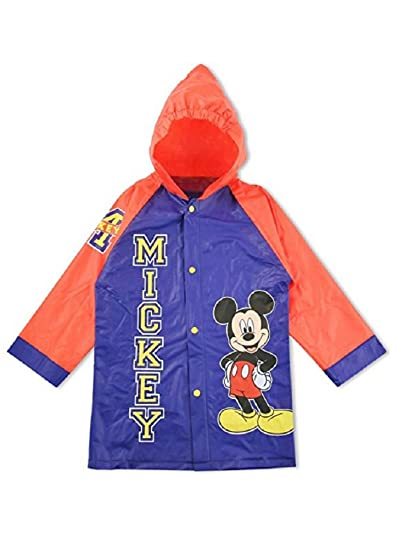 7876a771f Image Unavailable. Image not available for. Color: Little Boys Disney  Mickey Mouse Rain Coat ...