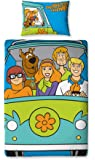 Character World 135 x 200 cm Scooby Doo Mystery Single Panel Duvet Set, Multi-Color