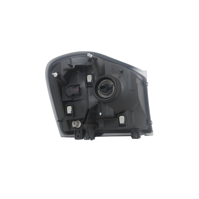 TYC 20-6518-00-9 Dodge Durango Left Replacement Head Lamp