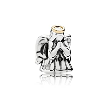 69d2268de Amazon.com: PANDORA Charm 791770 Bead Silver and Gold Female Guardian Angel:  Arts, Crafts & Sewing