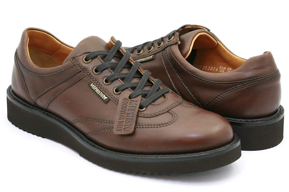 Mephisto Adriano Chestnut braun Randy Leather Handmade Mens schuhe