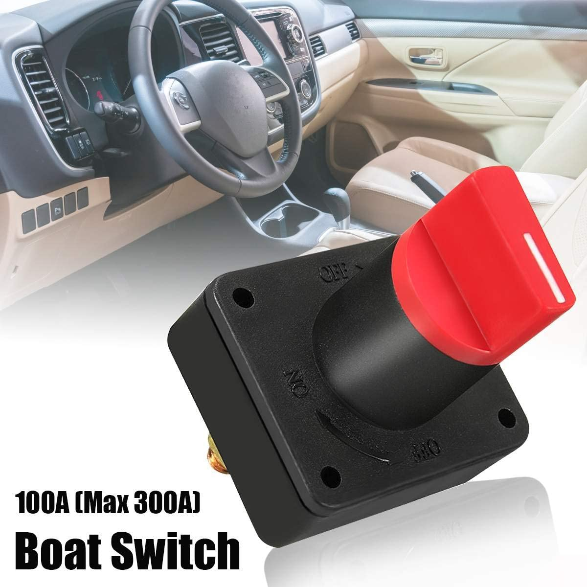 100A Battery Isolator Master Disconnect Power Cut Off Kill Switch Boat Car Van