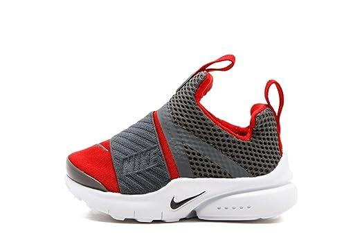 newest 307ba d5911 ... Gs × Grey Red Nike Presto Extreme TD Toddlers Running Shoes Gym  University RedDark Grey -White, ...