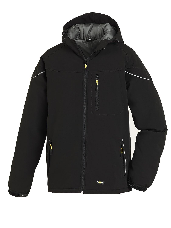 teXXor Winter-Softshelljacke Vail, gefü tterte Arbeitsjacke mit Fleece, L, schwarz, 4138 4138-L