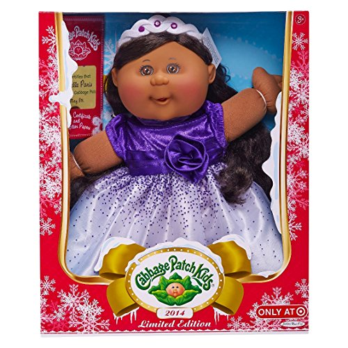 Jakks 2014 Limited Edition Holiday Cabbage Patch African ...