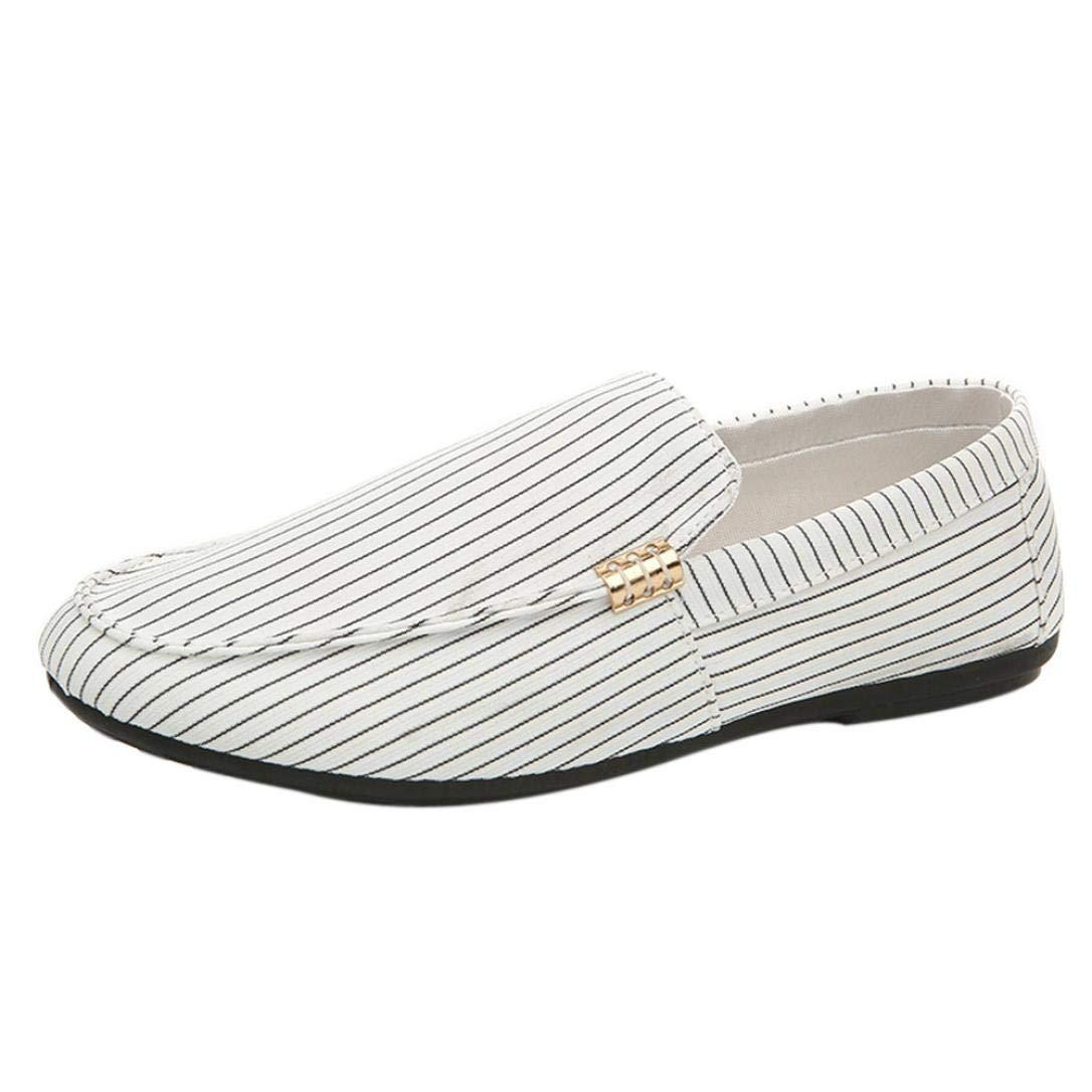 ... Rayas Casual Cómodas Calzado de Planos Transpirables Zapatos Informales Bambas Zapatos para Perezoso Náuticos Mocasines: Amazon.es: Ropa y accesorios
