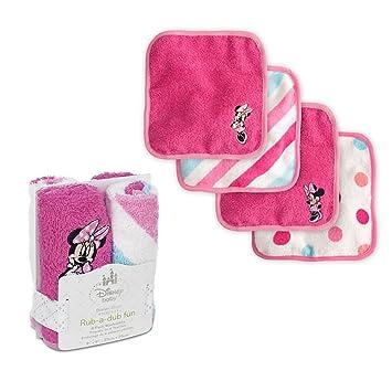 Amazon.com: Disney Exclusivo Bebé Minnie Mouse manopla Set: Baby