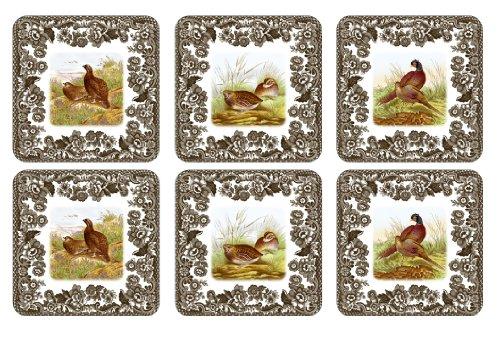 (Spode Woodland Coasters, Set of)
