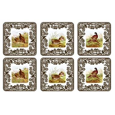 Spode Woodland Coasters, Set of 6