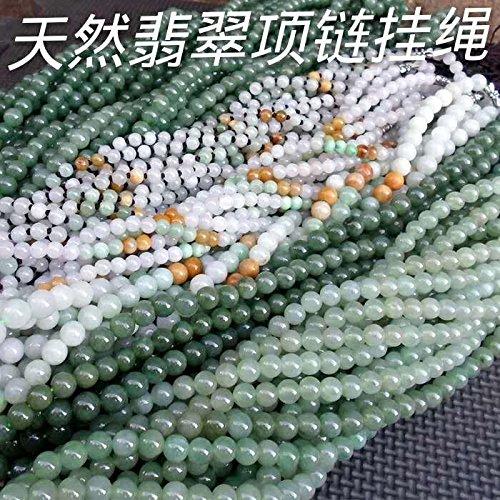TKHNE Natural jade necklace pendant old r emerald jade lanyard cargo Burma jadeite jade necklace pendant only DIY (Jadeite Pendant Necklace)