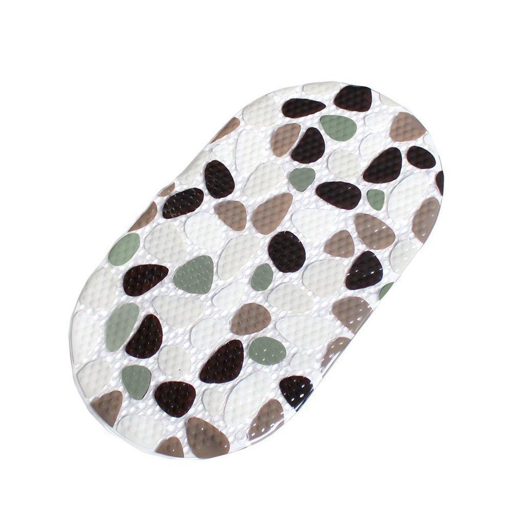 tappetino da bagno ciottoli di pietra Design ekershop 40x 70cm Tappetino da bagno con ventose Tappetino Per Vasca Da Bagno In Pvc antiscivolo tappetino da bagno LeHom