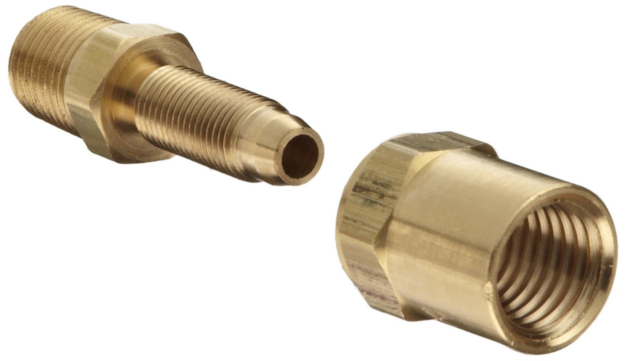 Dixon BN22RU50 Brass Reusable Fitting Adapter 1/4  NPTF Male x 1/4  Hose ID 1/2  Hose OD Industrial Hose Fittings Amazon.com Industrial u0026 Scientific  sc 1 st  Amazon.com & Dixon BN22RU50 Brass Reusable Fitting Adapter 1/4