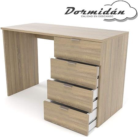 Dormidán- Escritorio 4 Cajones, Mesa de Oficina, Despacho ...