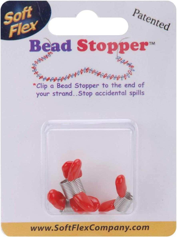 Soft Flex Varios Mini con Tapa de Bead stoppers-Plastic Metal
