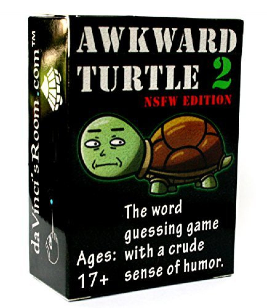 Awkward Turtle 2 - The Adult Party Game with a Crude Sense of Humor - NSFW Edition by da Vinci's Room da Vinci's Room