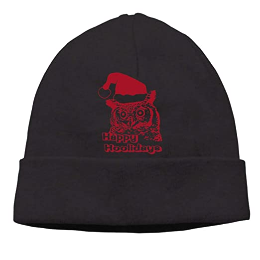 caeca61b Eartha Tracy Winter Newsboy Cable Knitted Visor Beanie Hat with Christmas  Hooster