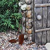 Tiny Garden Tools, Rustic (Set of 4), Appliances for Home