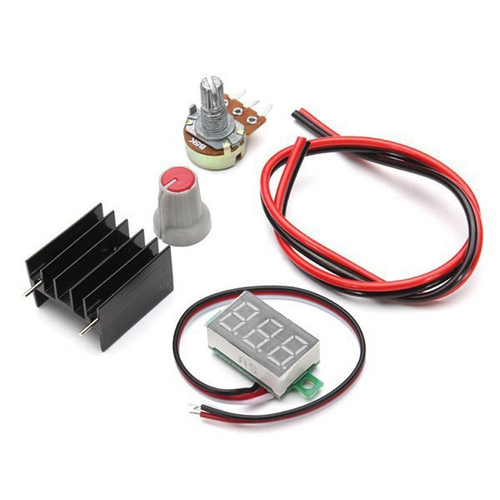 110v Regulated Power Supply Lm317 125v 12v Continuously Adjustable Miniature Motor Controller By Electronic Projects Circuits Voltage Diy Kit Module Pcb Board Kits