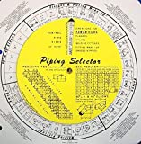 Piping Selector Large Bore/Square Wheel