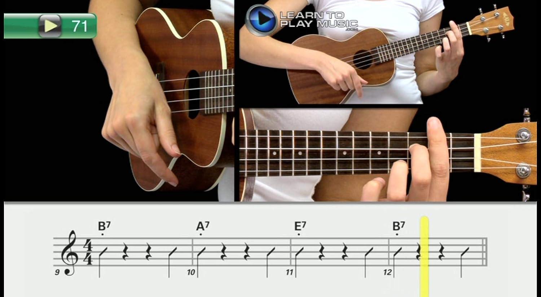 Aprende a tocar el ukelele como tocar el ukelele Tutor lecciones ...