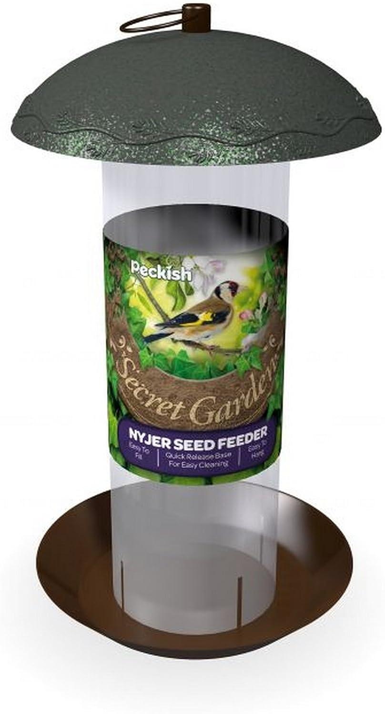 Peckish - Comedero de semillas modelo Secret Garden Nyger