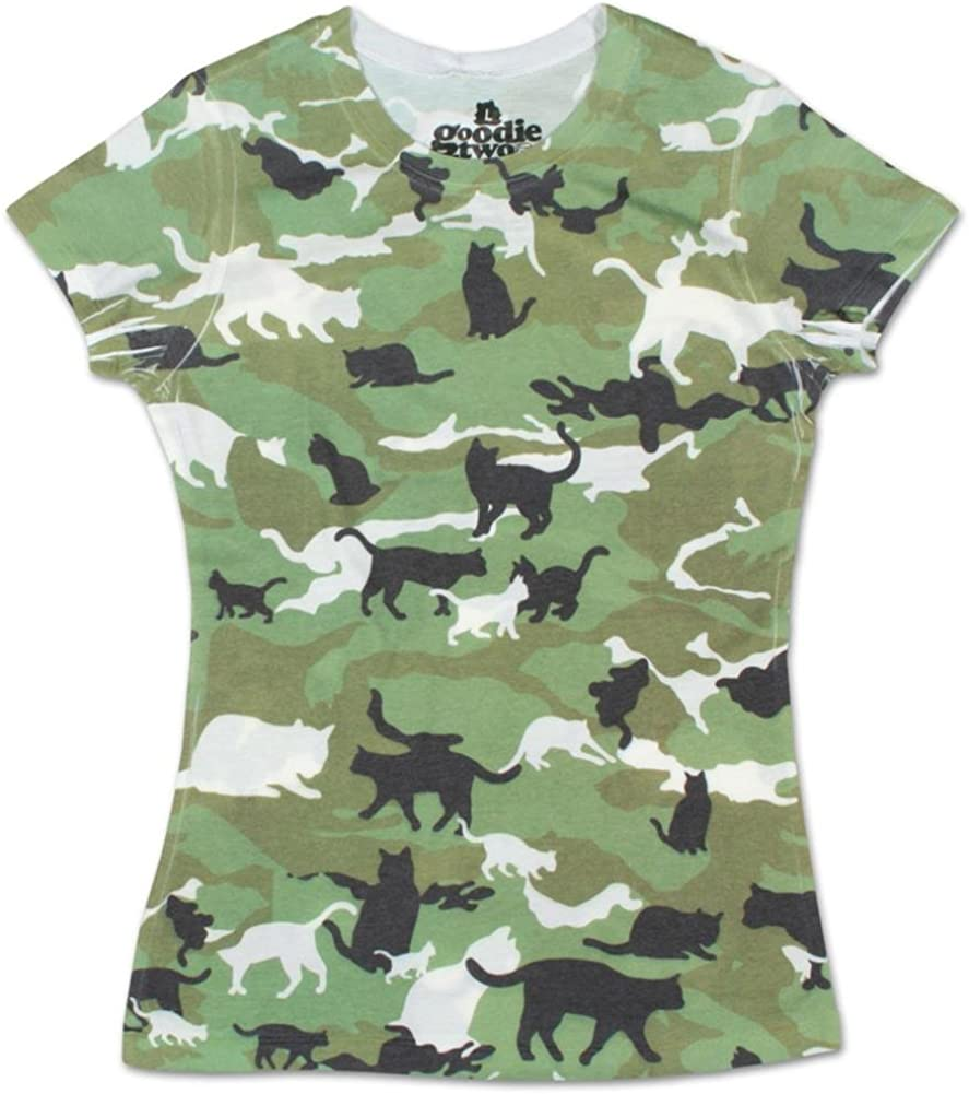 Cat Camo Catmouflage All Over Adult T-Shirt