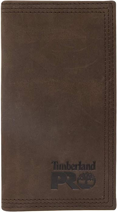 Ariat Mens Western Rodeo Wallet//Performance Work//11 Credit Card//Leather//Brown