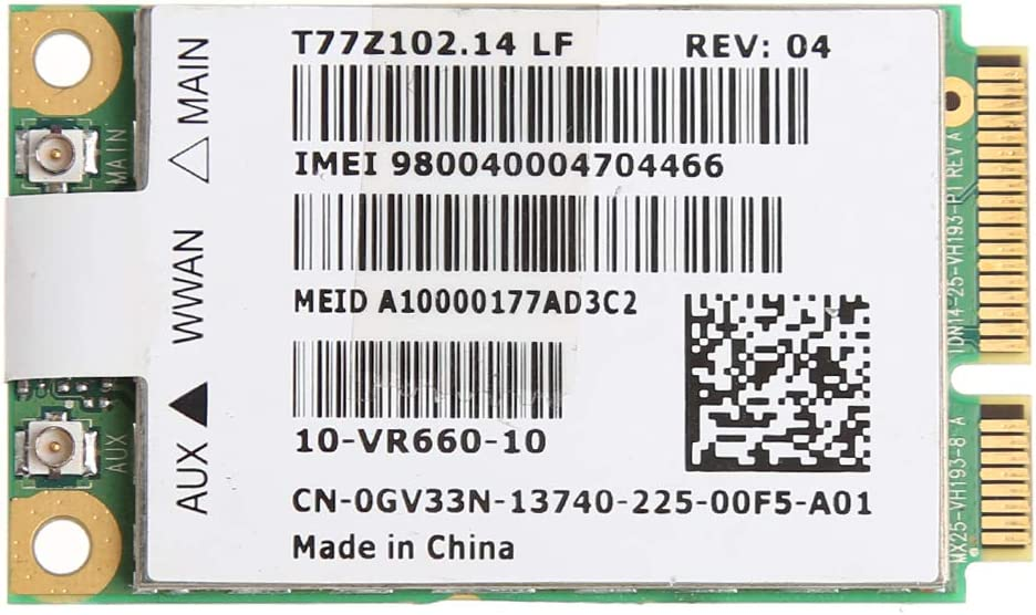 zkm111 Tarjeta de red para portátil WWAN 3G inalámbrica ...