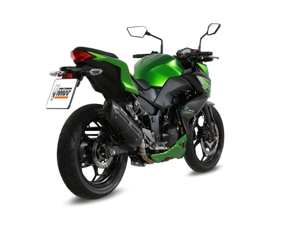 Escape - Silenciador trasero MIVV Suono Steel Black Kawasaki ...