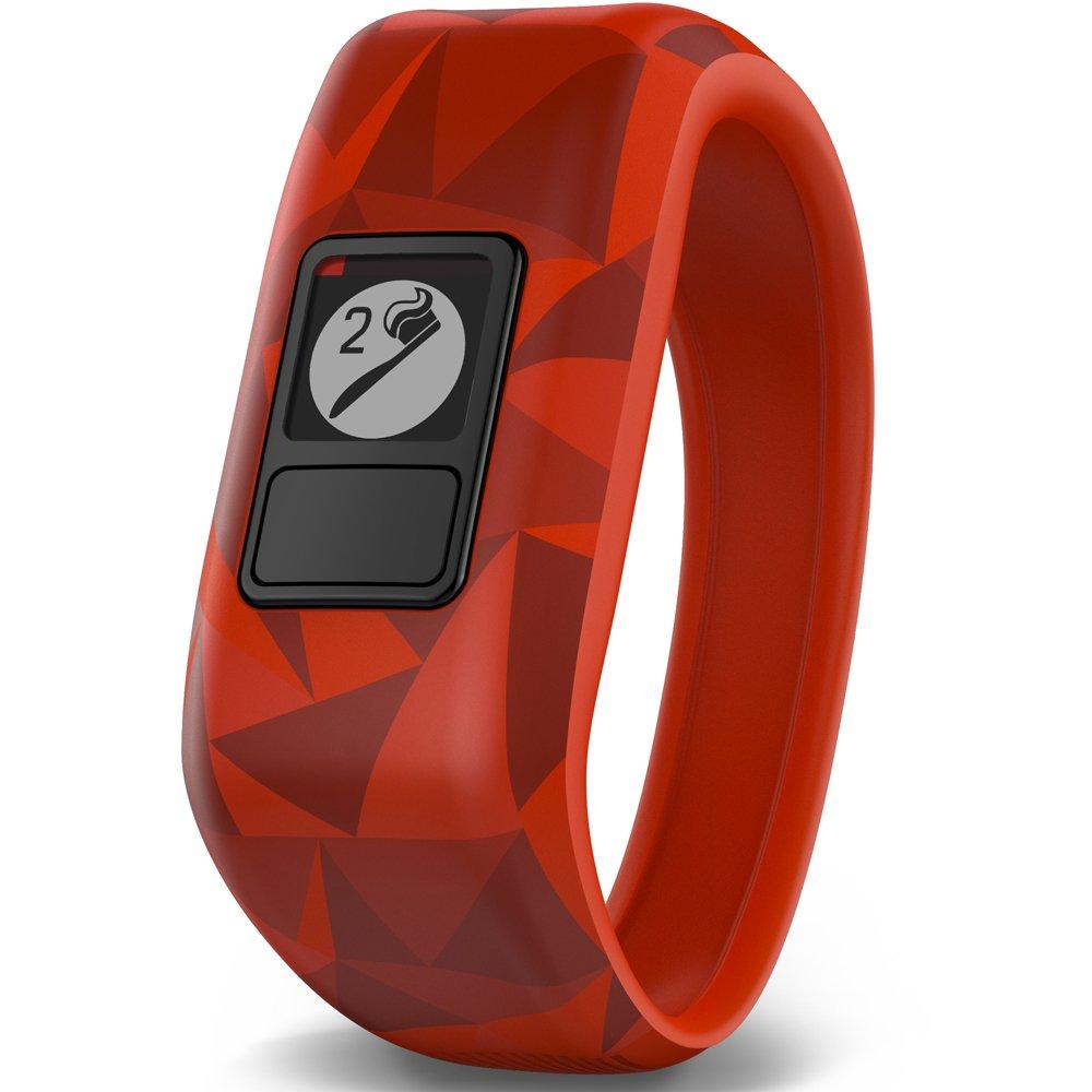 Broken Lava Garmin Vivofit Jr Red Daily Activity Tracker for Kids