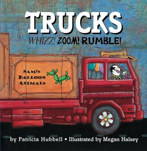 Trucks: Whizz! Zoom! Rumble! cover