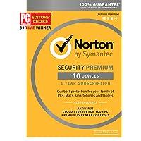 Deals on Norton Security Premium - 10 Device