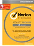 Norton Security Premium - 10 Device [Key Card]
