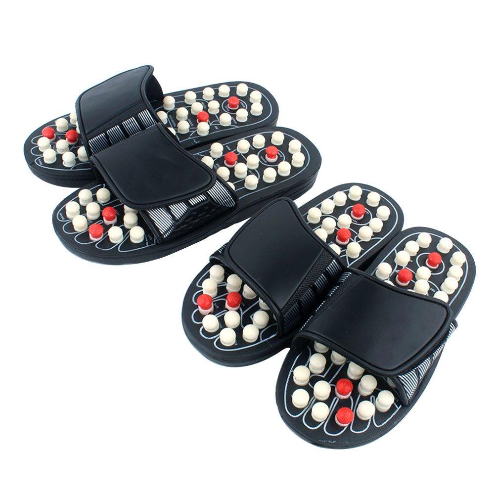 Anna-neek Massage Schuh Akupressur - Fußpflege Massage Orthotic Slipper Gesundheit Pantoffeln Kreisläufe Verbessern Für Damen und Herren