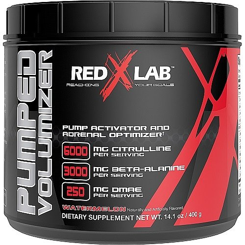 Red X Lab Pumped Volumizer Watermelon 21 Servings