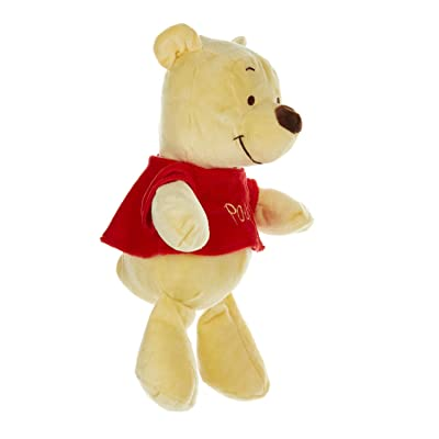 Disney Baby Winnie The Pooh Stuffed Animal Plush with Jingle & Crinkle Sounds, 12 Inches: Kids Preferred: Baby