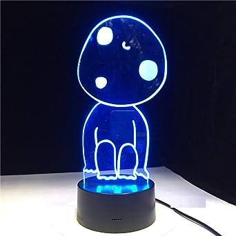 Luz Nocturna 3D Boy Lámpara De Mesa Luz Nocturna Para Niños Regalo ...