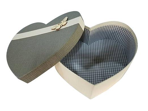 Nuevo estilo en forma de corazón caja de regalo Pretty Valentine caja de regalo