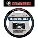 NCAA Florida State Seminoles Poly-Suede Steering Wheel Cover, Team Color, One Size